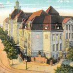 Düsseldorfer Landeshaus an der Rheinallee - Grafik von 1921