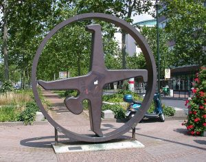 Radschläger an der Heinrich-Heine-Allee in Düsseldorf